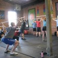 CrossFit WOD Overhead Squat 5 x 3 @ 75% 10 to 1 Reps: - OH Lunges (45#/25#) - Mountain Climbers - KB Swing (24kg/16kg)